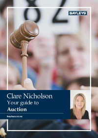 A Guide to Auction - Clare Nicholson